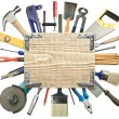 Carpentry background — Stock Photo #9096650