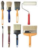 Nástroje pro malování — Stock fotografie