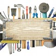 Carpentry background — Stock Photo #9238028
