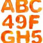Alphabet — Stock Photo #9383244