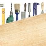 Carpentry background — Stock Photo