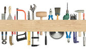 Carpentry background — Stock Photo