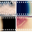 Stock Photo: Film textures