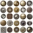 Vintage buttons — Stock Photo #9575619