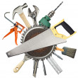 Construction tools — Stock Photo #9849358