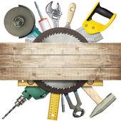 Hulpmiddelen van de bouw — Stockfoto
