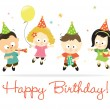 Happy Birthday kids 2 — Stock Vector #10234110