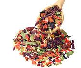 Mieszanka suszonych warzyw — Zdjęcie stockowe