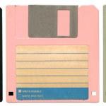 tři diskety — Stock fotografie