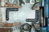 Stare narzędzia — Zdjęcie stockowe