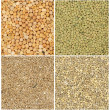 Royalty-Free Stock Photo: Different grains