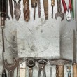 Old tools background — Stock Photo