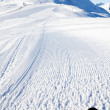 View on empty fresh-made ski slope — Stock Photo #8740646
