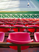 Empty tribune — Stock Photo