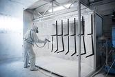 Powder coating — Stock Photo