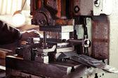 Metalen snij machines — Stockfoto