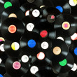 Постер, плакат: Vinyl records background
