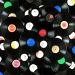 Royalty-Free Stock Photo: Vinyl records background