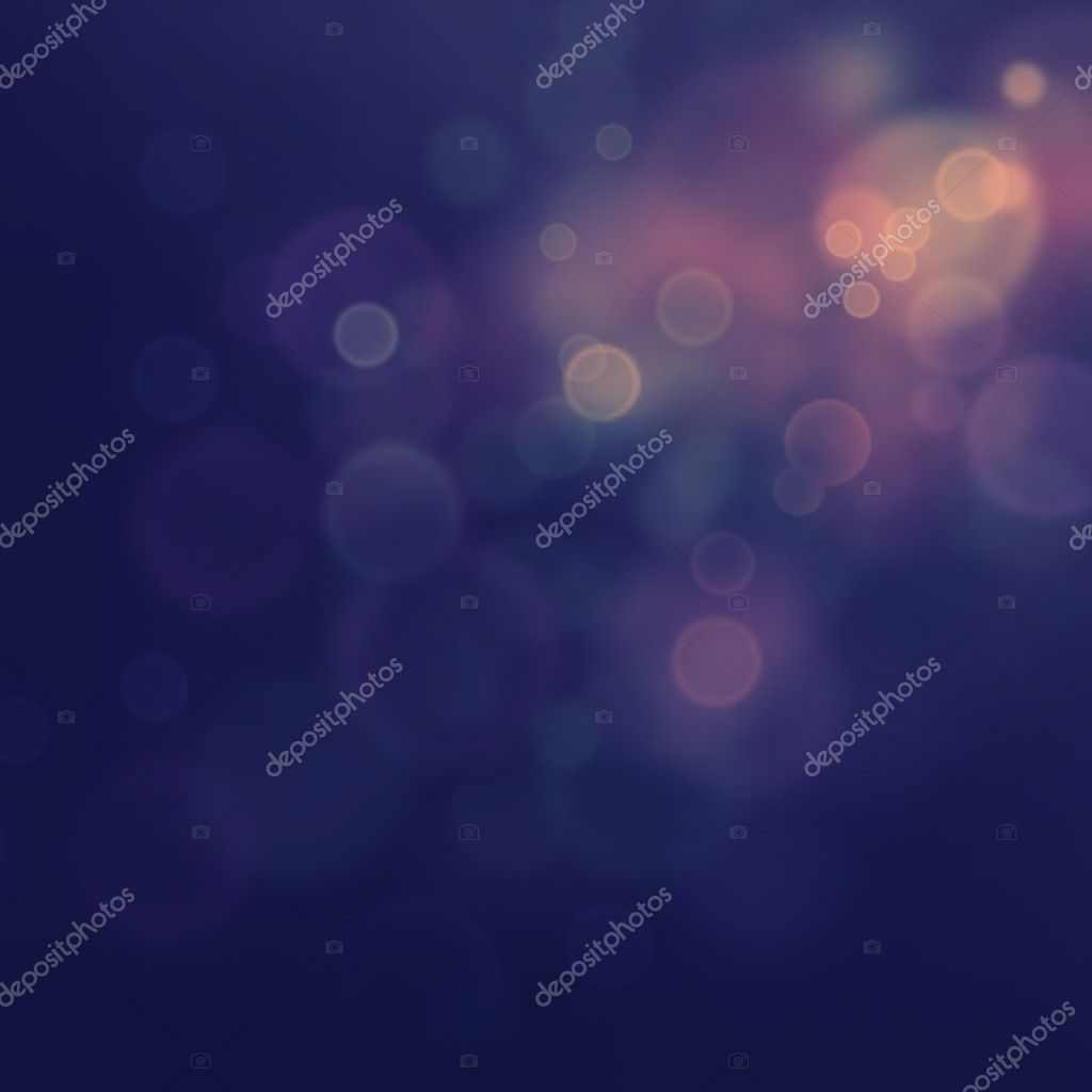Purple Festive Christmas  elegant  abstract background with  bokeh lights and stars  Stock Photo #8397533
