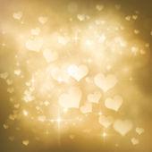 Valentines day festive bokeh background — Stock Photo