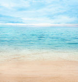 Summer ocean — Stock Photo