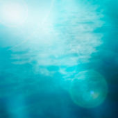 Bokeh summer sea background — Stock Photo