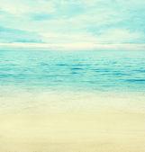 Summer ocean — Stock Photo