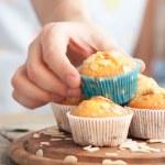 Delicious muffins — Stock Photo #9107319