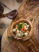 Vegetable soup — Стоковое фото