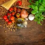 Fresh ingredients — Stock Photo #9874189