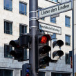 Traffic Lights and Signs Berlin - Stock Photo