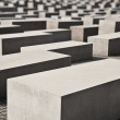 Holocaust Memorial, Berlin - Stock Photo