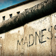 Berlin Wall Madness — Stock Photo