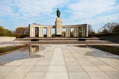 The Soviet Memorial in the Tiergarten, to honor the fallen Red A — Stock Photo