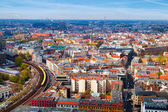Aerial View of Berlin — Foto de Stock