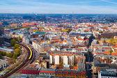 Vista aérea de berlín — Foto de Stock