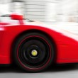 Race Car in motion — Stock Photo