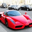 Ferrari Enzo in the streets of Berlin - Stock Photo