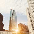 Potsdamer Platz Skyscrapers - Stock Photo