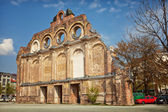 Anhalter Bahnhof Surviving Facade — Stock Photo