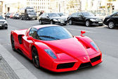 Ferrari Enzo in the streets of Berlin — Stock Photo