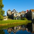 Volendam View - Stock Photo