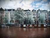 Vintage Amsterdam Architecture — Stock Photo