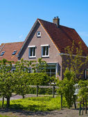 Scenics Cottages in Marken, Netherlands — Stock Photo