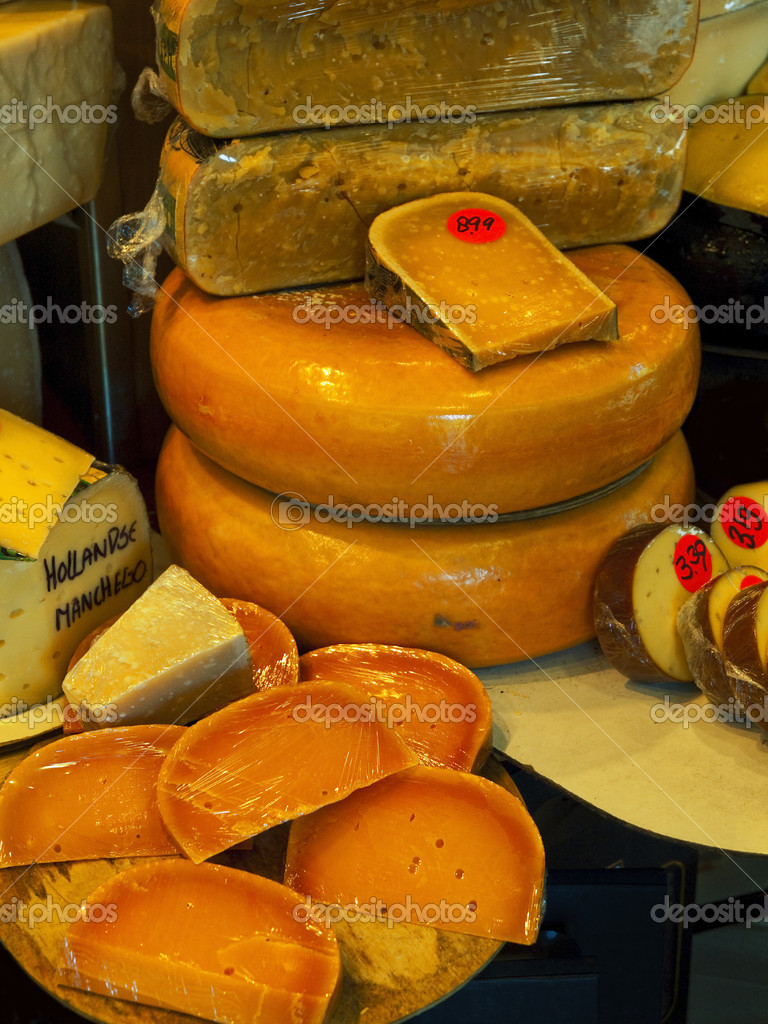 Cheese Shop in Amsterdam — Stock Photo #9060106