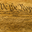 USA Constitution Parchment — Stock Photo #9271970