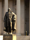 Albert Gallatin Statue — Stock Photo