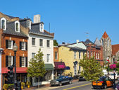 Georgetown Streets, Washington DC — Stock Photo