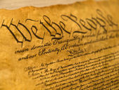 USA Constitution Parchment — Stock Photo