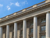 Archives of the USA building detail in Washington DC — Stock Photo